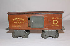 1930's Bing? Non-Pareil ? Central RR of New Jersey, #10205  Box Car, Original