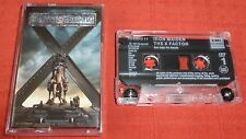 IRON MAIDEN - UK CASSETTE TAPE - THE X FACTOR
