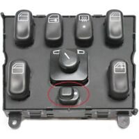 MERCEDES C CLASS W202 WINDOW CONTROL CHILD LOCK BUTTON 2028208210 - 1638206610