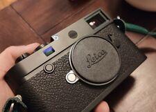 Leica limitierter mattschwarzer Dot M10, M10-R, M9, Q, Q2, M8, M7, M6, M262 #391