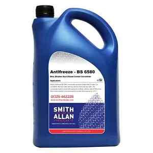 Antifreeze / Summer Coolant Blue Concentrate Ethylene Glycol 5 Litre 5L