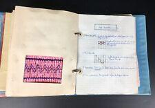 ANCIEN CAHIER DE TRICOT ET COUTURE 1961 VINTAGE SEWING