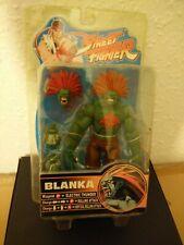 "Street Fighter Round 2 Blanka 8"" Figure 2005 Capcom sota brand new rare oop"