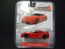 Jada Toyota FT1 Concept Red JDM Tuners 14036 W1A 1/64