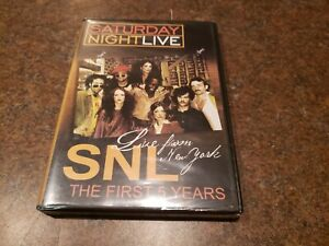 BRAND NEW Saturday Night Live SNL Live from New York The First 5 Years VERY RARE