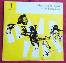 "MARY LOU WILLIAMS  ET SES FORMATIONS 25 CM 10 "" LP ORIG FR CLUB FRANCAIS DISQUE"