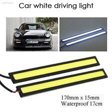 12V LED Light Bar SMD 5630 White 2Pcs Interior Light Strip Super Bright F8DE
