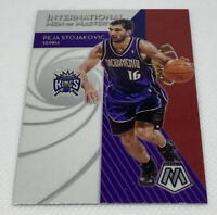 2019-20 Panini Mosaic International Men of Mastery Peja Stojakovic #2 Kings