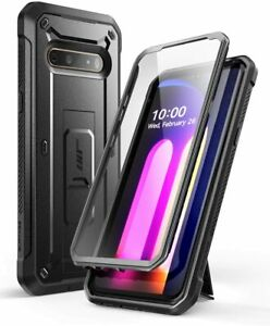 For LG V60 ThinQ, SUPCASE UBPro with Kickstand Case Built-in Screen Cover 2020