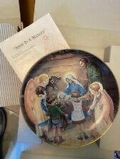 5 Collector Plates, Beloved Hymns of Childhood Series, one duplicate.
