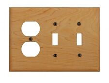 Switchplate Maple Hardwood Toggle Outlet | Renovator's Supply