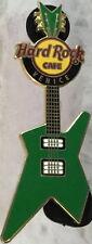 Hard Rock Cafe VENICE 2011 HRC Puzzle Guitar Series PIN #1/3 Green NM HRC #77522