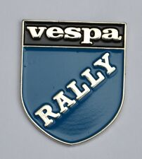 Vespa Rally Scooter Shield Quality Enamel Pin Badge
