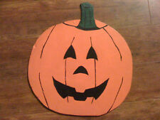 New Scary Jack O Lantern Pumpkin Halloween Decoration lawn ornament hand made