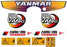 Yanmar Vio 30 bagger-aufkleber-satz