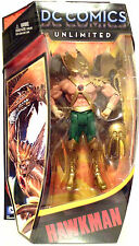 "HAWKMAN DC Comics Unlimited 6"" inch Action Figure 2012"