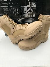 "NEW! OAKLEY SI ASSAULT BOOT 8"" SZ 12 Desert 11098-889C Military Special Forces"