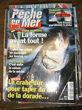 La pêche en mer N°143 Choisir son flotteur Le crabe dur pour bar dorade Seiche
