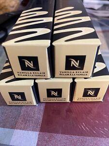 50 Ct Nespresso BARISTA Creations Vanilla Eclair Original Capsules