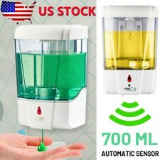 700ML Automatic Sensor Soap Dispenser Sanitizer Bathroom Touchless Wall Mounted