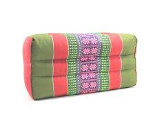 Thai Cotton Bolster Cushion Pillow Headrest Yoga Meditation Kapok Cotton 100% #1