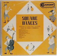 Woodhull's Old Tyme Masters Floyd C. Woodhull - Square Dances LP Camden CAL-220