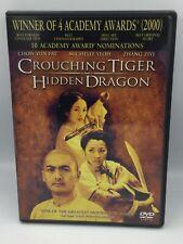 Crouching Tiger Hidden Dragon Chow Yn Fat Michelle Yeah Dvd Free Shipping