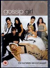 GOSSIP GIRL Complete Second Season BOX 7 DVD in Inglese Ottime Condizioni