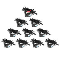 O Clamp Lighting Truss DJ Light Clamps 165LB 1.2-1.4In Pipe TUV Certified 10pcs