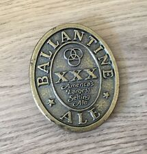 Ballantine Ale XXX American Metal Belt Buckle- Good Condition- Collectable- Rare