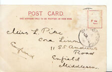 Family History Postcard - Pike - St Andrews Rd - Enfield - Middlesex - Ref 2714A