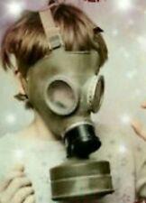 NEW RARE MC1 CHILD/KIDS GAS MASK MILITARY  POLISH GAS MASK SIZE 0,1