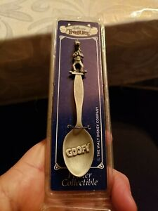 Vintage Pewter Collectible Goofy  Spoon