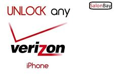 FACTORY UNLOCK SERVICE FOR VERIZON iPhone 4s 5 5C 5S 6 6+ 6s 6s+ 7 7+  Fast