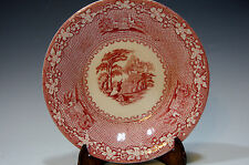 Jenny Lind 1795 Royal Staffordshire Pottery England Berry Bowl (Red)