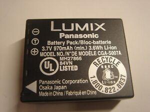Batería Original Panasonic CGA-S007A/1B CGA-S007E