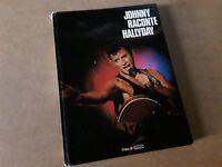 PB GRAND LIVRE  rare JOHNNY RACONTE HALLYDAY  EDITION  1984 occasion