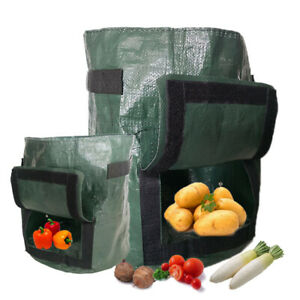 Potato Grow Bag Tomato Planting Bag PE Fabric Root Pots Vegetable Outdoor Garden