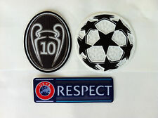 UEFA CHAMPIONS LEAGUE SET OF PATCHES PARCHES BADGE REAL MADRID for season 15-16