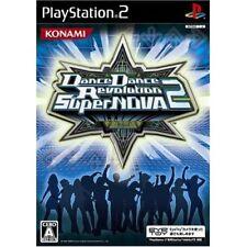 Used PS2 Dance Dance Revolution SuperNOVA 2 Japan Import