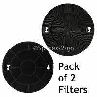 2 x Carbon Filters for INDESIT H561 H562 H563 H573 DO29 Cooker Hood Extractor