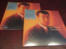 BUDDY HOLLY AUDIOPHILE VINYL 180 GRAM MCA 1988 RELEASE RARE LP PLAY 1 BACK UP 1