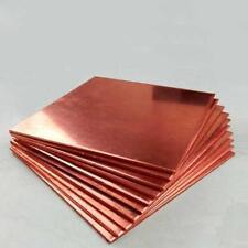 1pcs 99.9% T2 Pure Copper Cu Metal Sheet Plate 0.5 x 150 x 150mm