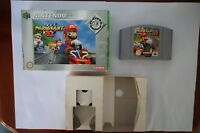 Mario Kart 64 Nintendo n64 mariokart box EUR genuine spiel game PAL clean 1999