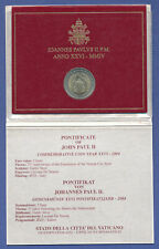 Vatikan 2 Euro Gedenkmünze 2004 , 75 Jahre Vatikanstaat 1929-2004 im Folder