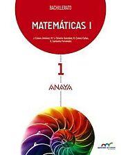 Matemáticas I.. NUEVO. Envío URGENTE. LIBRO DE TEXTO (IMOSVER)