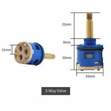 Shower Valve Cartridge Panel Ceramic Faucet Brass Handle Replacement Parts New