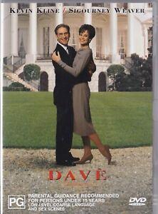 Dave - Kevin Kline, Sigourney Weaver   [R4]