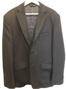 100% Cashmere Sports Coat Jacket US 42 EU 52 may be Yves Saint Laurent YSL Black