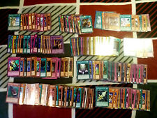 YUGIOH LOT OF 150 CARDS MANY MIXED HOLOS INCLUDED FREE SHIPPING!